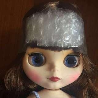 Factory doll blythe head with scalp for custom New