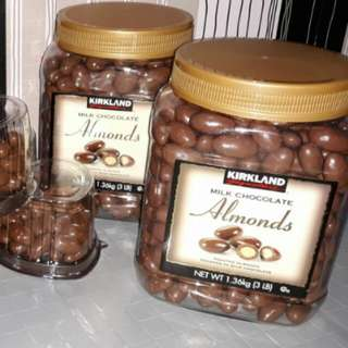 Kirkland Almond Milk Chocolate 3lbs.