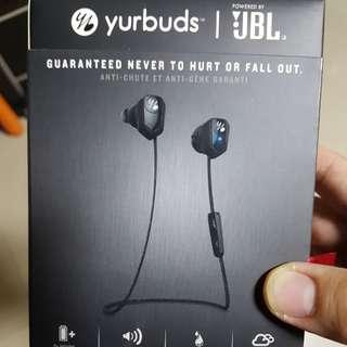 JBL yurbuds leap wireless secure fit earphones