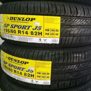 Dunlop 185/60R14 J5