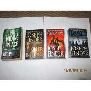 Joseph Finder, #Paperbacks, Pre-loved #Book/Books, Softbound