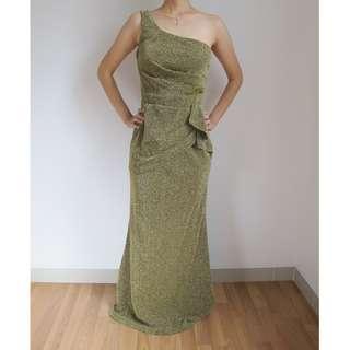 Gold Long Dress
