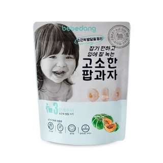 Bebedang Organic Organic Brown Rice Pop - Cheese & Pumpkin / Baby snack / Baby food