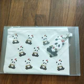 Panda Pouch/Wallet/Pencil Case
