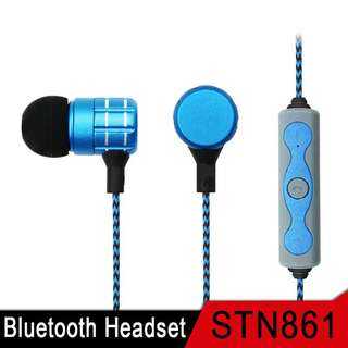 Headset Wireless Sony STN-861 Bluetooth V4.2