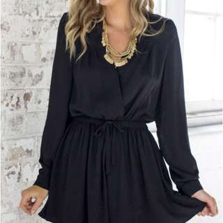 Showpo Black Playsuit