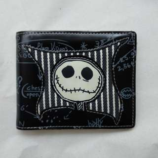 Nightmare Before Christmas Silver Wallet