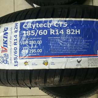 Viking 185/60R14 CT5 New Tyre
