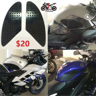 Motorcycle Traction Tank Pad sticker 3M Traction Pad / Anti Slip Pad / Side Tank Pad
