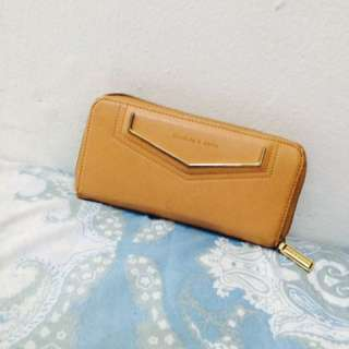Dompet Charles n Keith Brown ORI