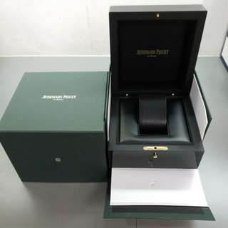 AP Audemars Piguet 100% New Authentic La Brassus Wooden Watch Box