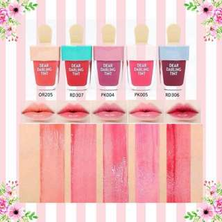 PROMO!! ETUDE HOUSE DEAR DARLING TINT ICE CREAM