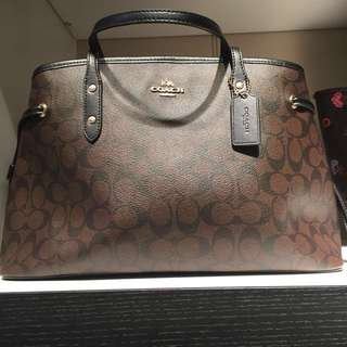AUTHENTIC COACH Large Signature Bag