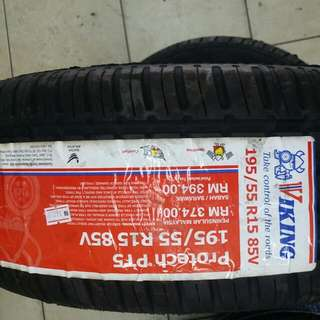 Viking 195/55R15 PT5 New Tyre