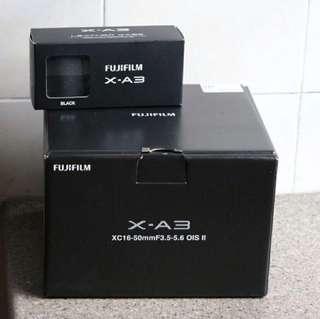 Fujifilm X-A3 & XC 16-50mm Lens