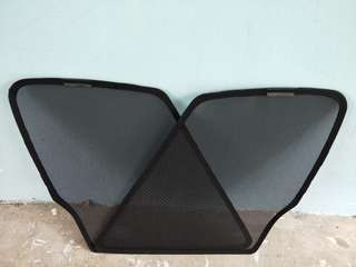Mitsubishi Lancer EX Magnetic Shades...if not mistaken