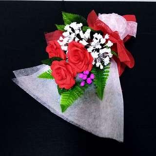 PRE-ORDER Personalised Handmade Crepe Flower Bouquet - 1