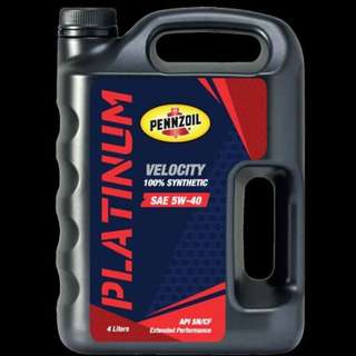 PENNZOIL FULLY SYNTHETIC 5W-40