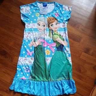Frozen Dress Blue Size L