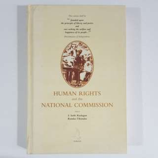 Human Rights and the National Commission by Rachagan & Tikamdas [Hardcover]