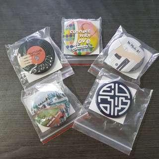 Limited Edition Set Eunoia JC Badges