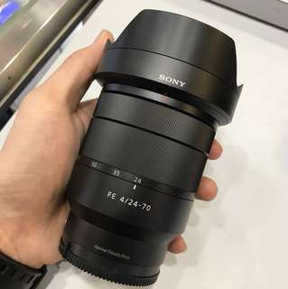 Sony 24-70mm F4 ZA OSS Lens