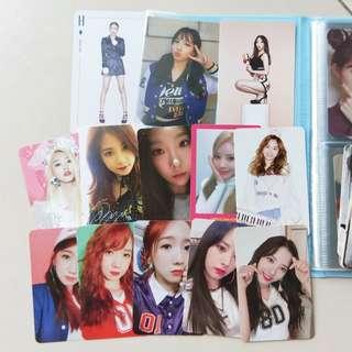 $6 clearance girl group photocard