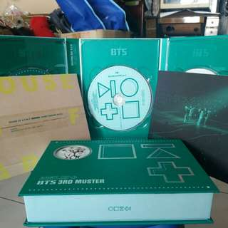 [WTS] BTS 3RD MUSTER DVD without PC