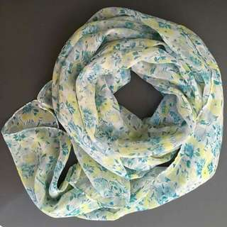 Floral Indian Scarf