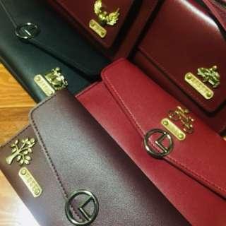 Personalized 2in1 Long Wallet
