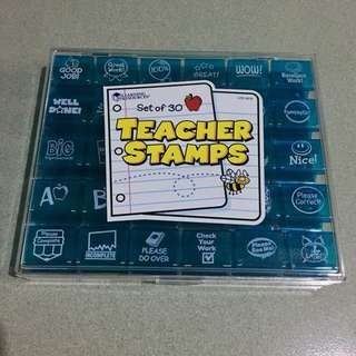 Teacher Stamps