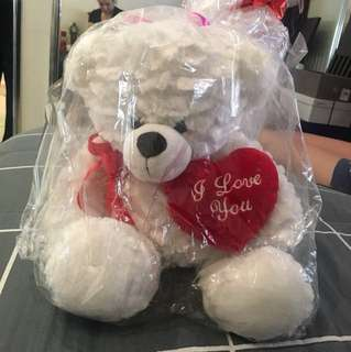 "Valentine's Day Bear ""I love you"" NEW"