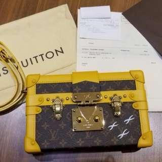 Louis Vuitton Monogram Petite Malle Bag