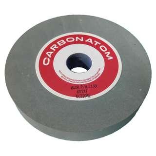 "Carbonatom carbide grinding stone 6"" x 1"" x 1"" grit 220"