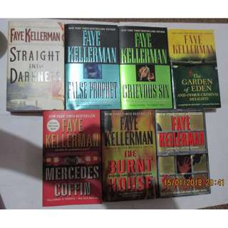 Faye Kellerman, Paperbacks, Pre-loved Book, Books, Softbound