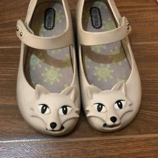 Mini Melissa Ultragirl IX Fox size 10 Authentic