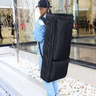 Portable 61 Keyboard Electric Piano Padded Case Gig Bag Oxford Cloth Waterproof .thickening