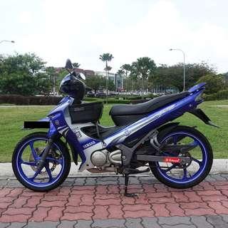 Yamaha 125zr 2012 biru GP Full Original