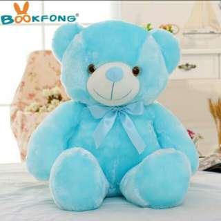 Teddy bear with led