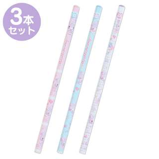 Japan Sanrio Mewkle Dreamy 2B Pencil Set of 3
