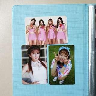 $10 clearance girl group photocards