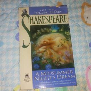 A midsummer night's dream by Shakespeare