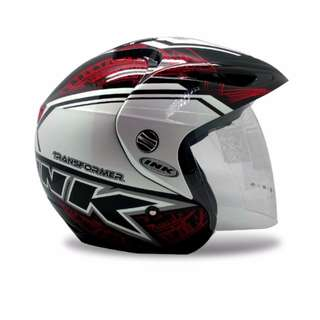 Helmet Ink CL Max # 3 Flou L Clear (Black/Red)