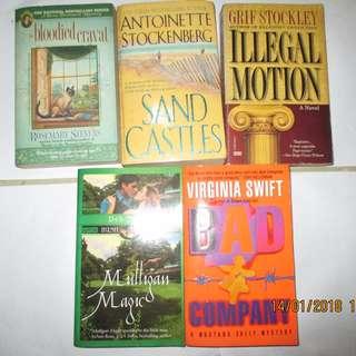 Rosemary Stevens, Antoinette Stockenberg, Gri Stockley, Deb Stover, Virginia Swift Paperbacks