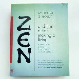 Book: Zen and the Art of Making a Living: A Practical Guide to Creative Career Design