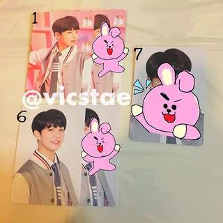 JUNGKOOK / MINI PHOTOCARDS / BTS 4TH MUSTER HAPPY EVER AFTER
