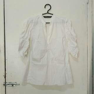 REPRICED: Zara ruffled sleeves blouse / top