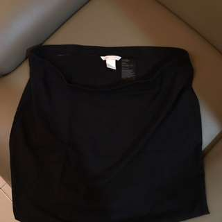 H&M Basic Black Skirt