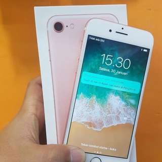 Iphone 7 256gb rosegold