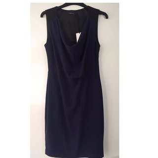 BNWT Portmans Navy & Black dress sz 8